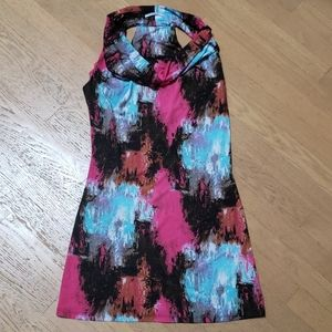 Nikibiki size M Sleeveless Dress with cowl neck
